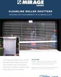 Clearline Roller Shutter