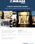 Fiesta Stacking Doors