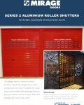 S100 Fire Resistant Roller Shutters