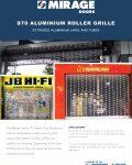 Mirage S70 Aluminium Heavy Duty Roller Grille